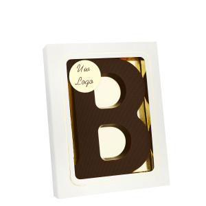 Grote Letter B met logo puur