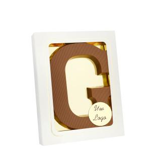 Grote Letter G met logo melk