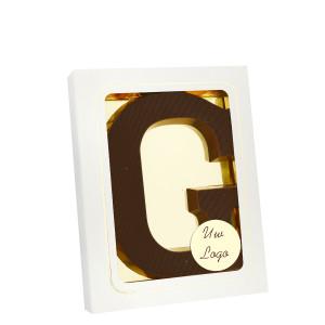 Grote Letter G met logo puur