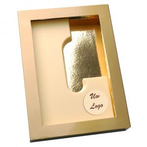 Letter L met logo wit