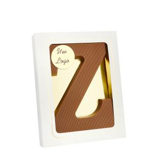 Grote Letter Z met logo melk