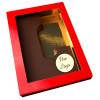 Letter L met logo pure chocolade