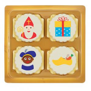 4 Sinterklaas bonbons in doosje