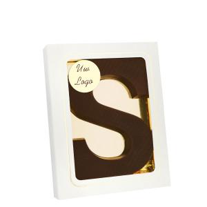 Grote Letter S met logo puur