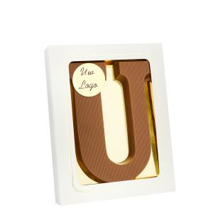 Grote Letter U met logo melk