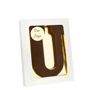 Grote Letter U met logo puur