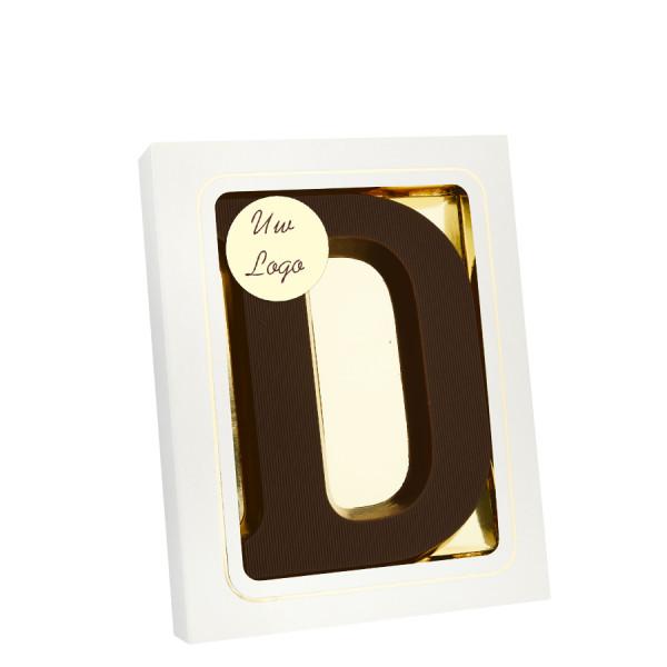 Grote Letter D met logo puur