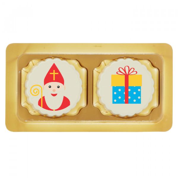 2 Sinterklaas bonbons in doosje
