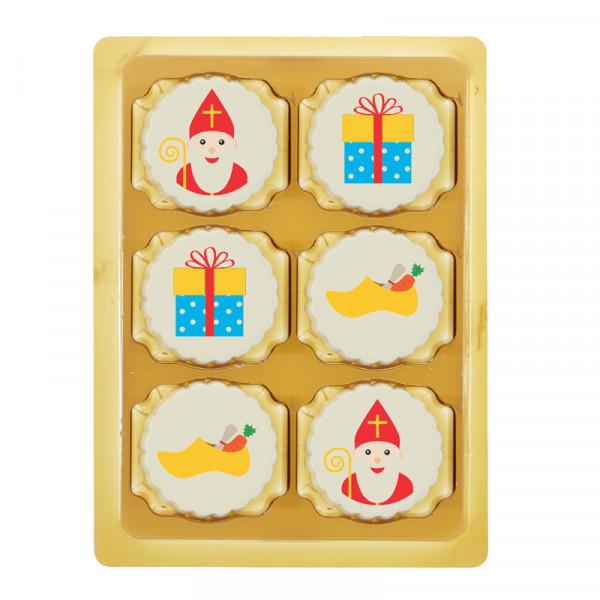 6 Sinterklaas bonbons in doosje