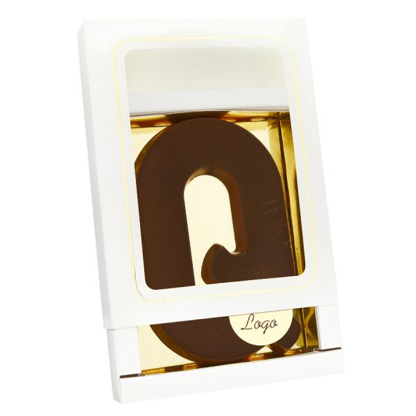 Grote Letter Q met logo puur