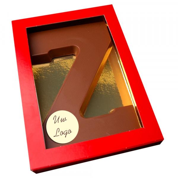 chocoladeletter-z-met-logo