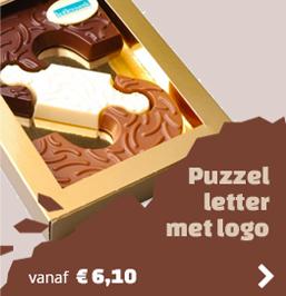 Puzzel met Logo